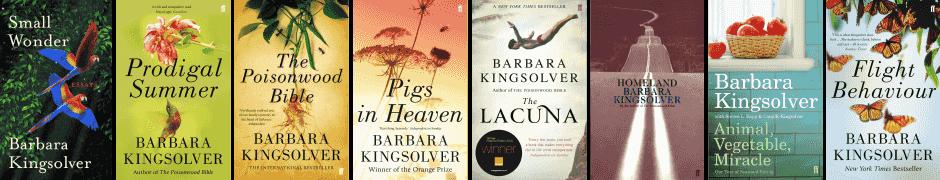barbara kingsolver book covers Book Revue